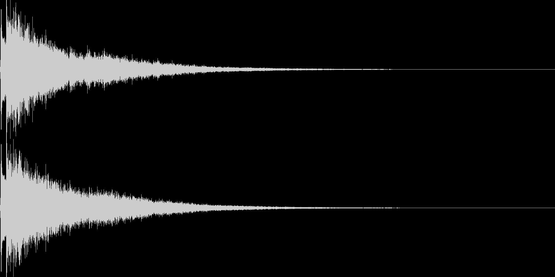 かわいい系 キラキラ系 光る音06の未再生の波形