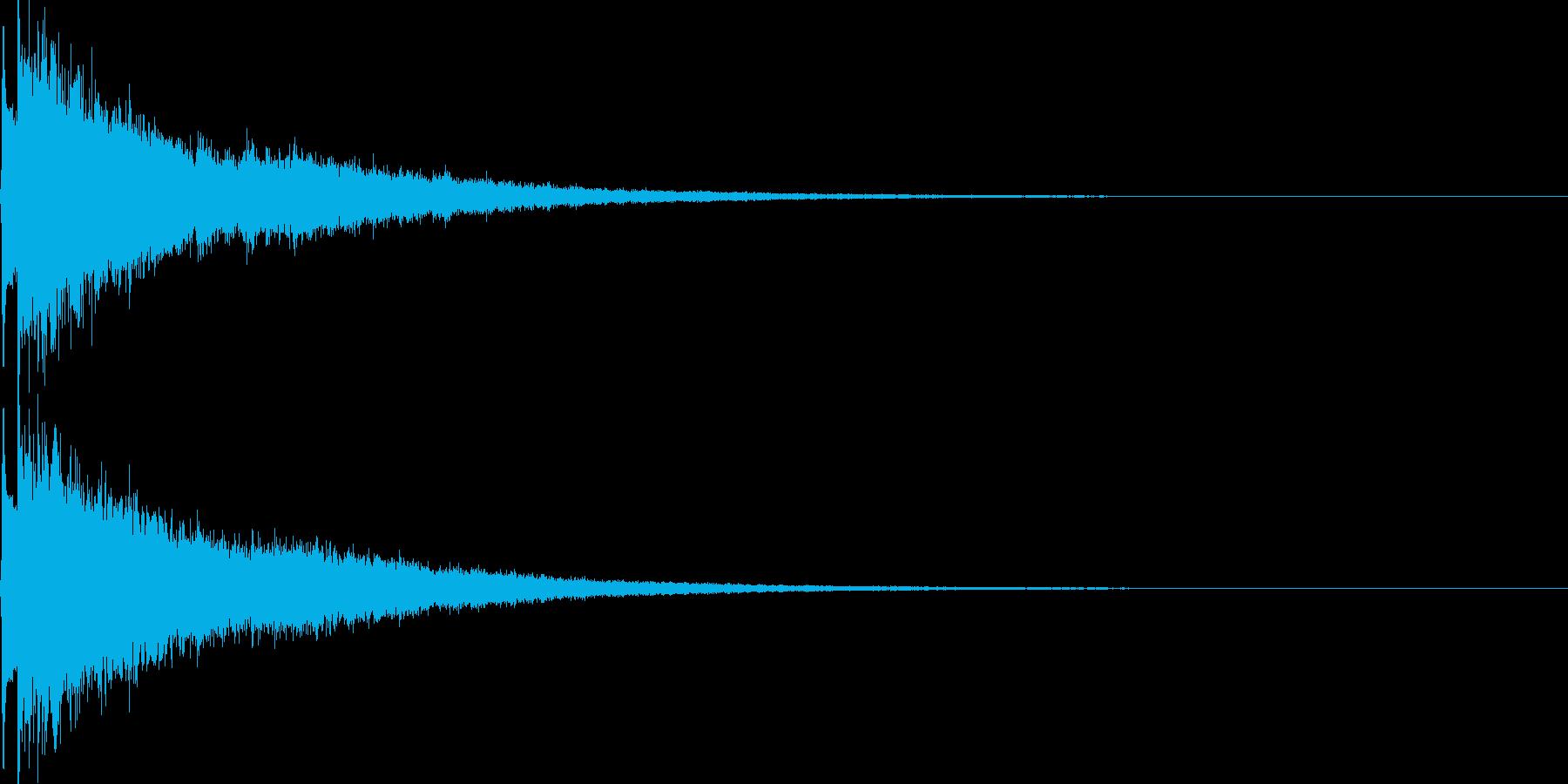 かわいい系 キラキラ系 光る音06の再生済みの波形