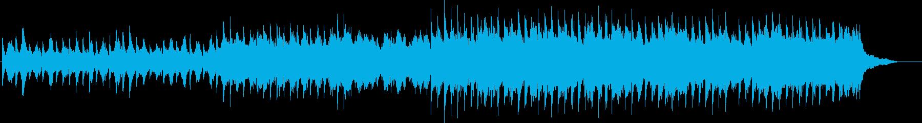 北欧、自然、ピアノ、ストリングス、合唱の再生済みの波形