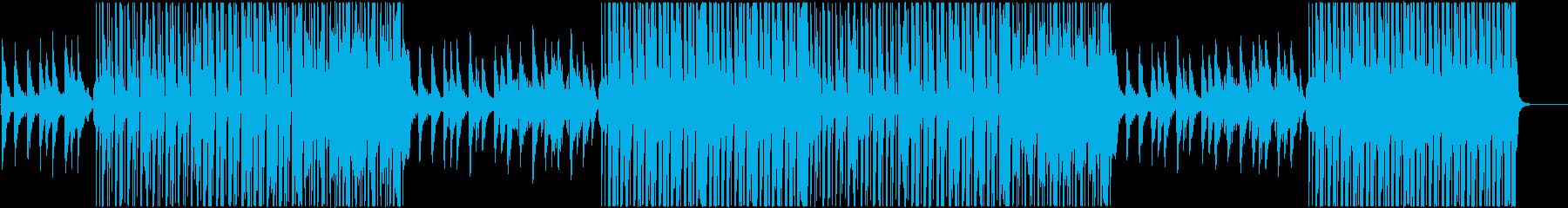 ポップでハッピーなレゲトントラック♬の再生済みの波形