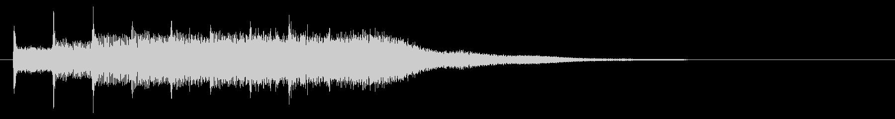 KANT涼しげベルアイキャッチ141の未再生の波形