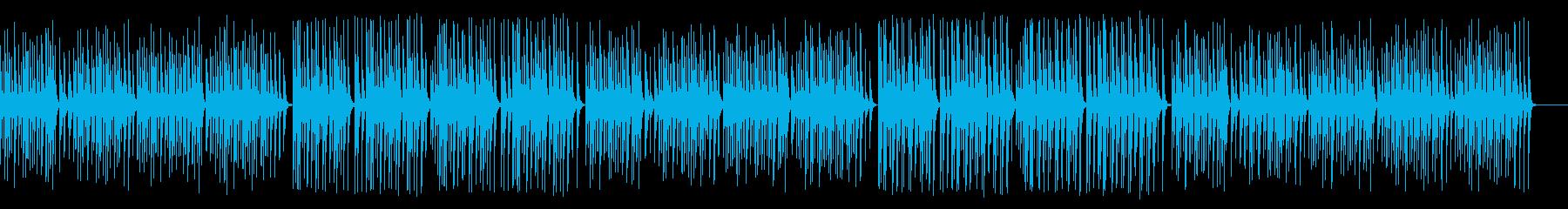 解説や料理番組に合う木琴レトロジャズの再生済みの波形