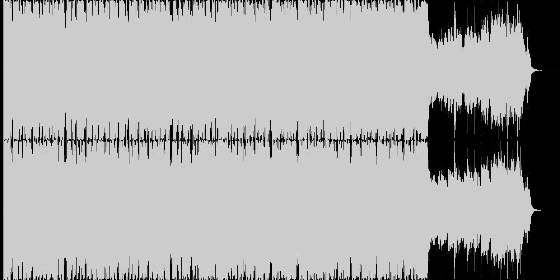 疾走感溢れるBGM(30ver)の未再生の波形