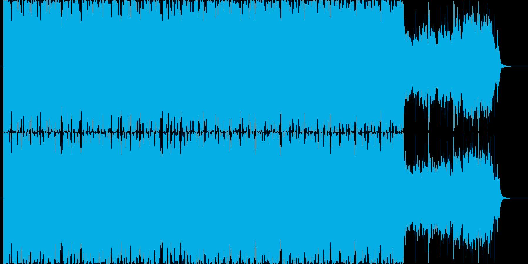 疾走感溢れるBGM(30ver)の再生済みの波形