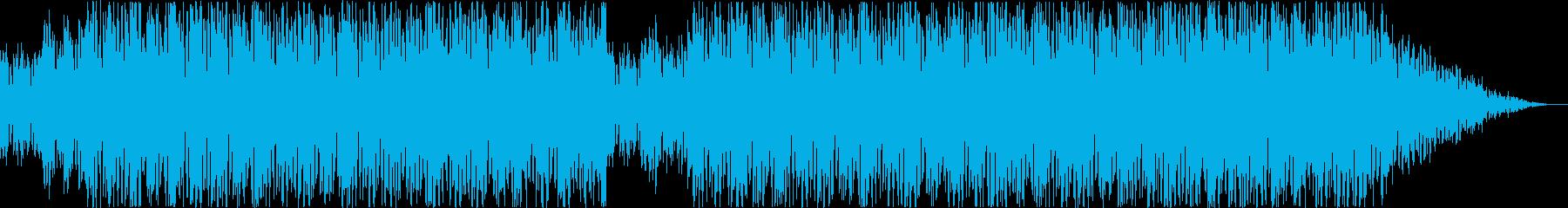 ヒップポップ。サックスソロの再生済みの波形