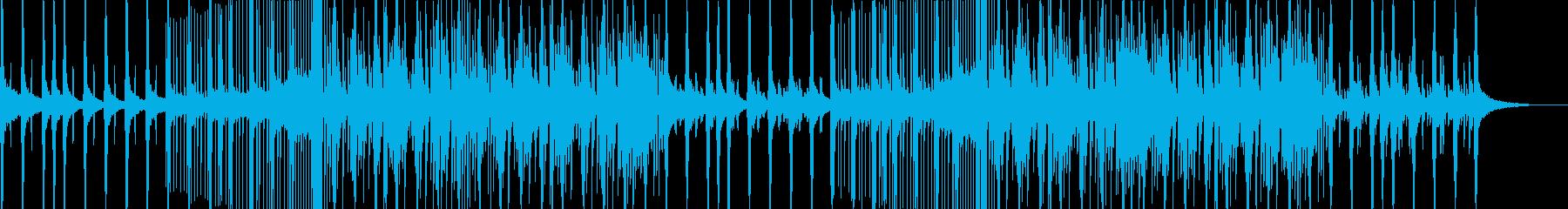 Future Bass エンディングの再生済みの波形