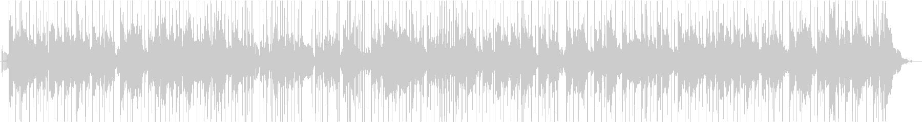 リラックスできるチルホップの未再生の波形