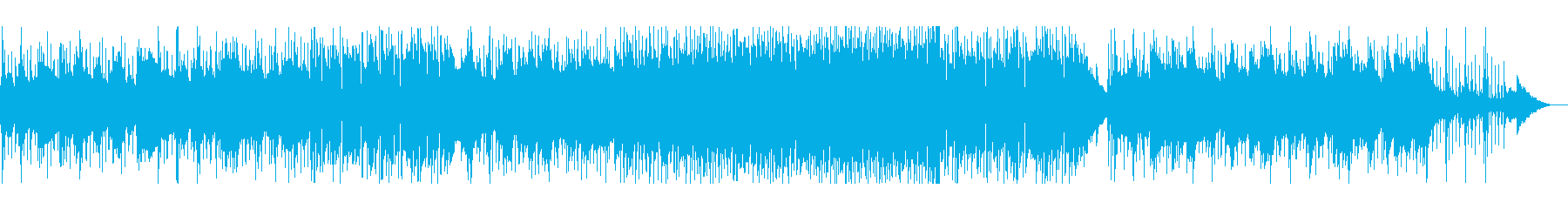 哀愁漂うメロディーが印象的なポップスの再生済みの波形
