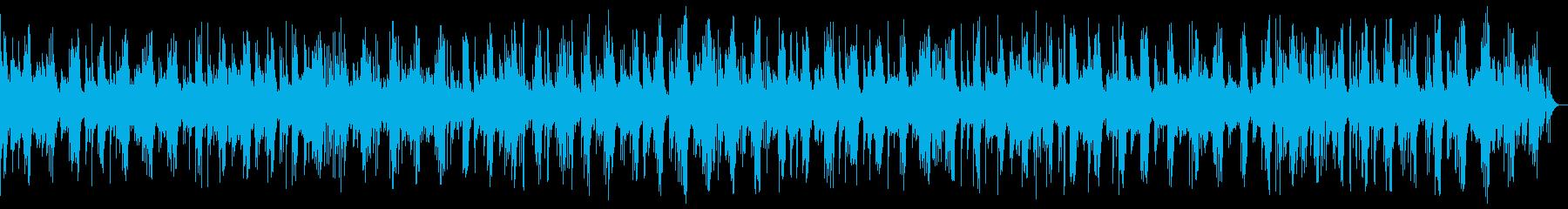 悠長で繊細なピアノヒーリング_効果音なしの再生済みの波形
