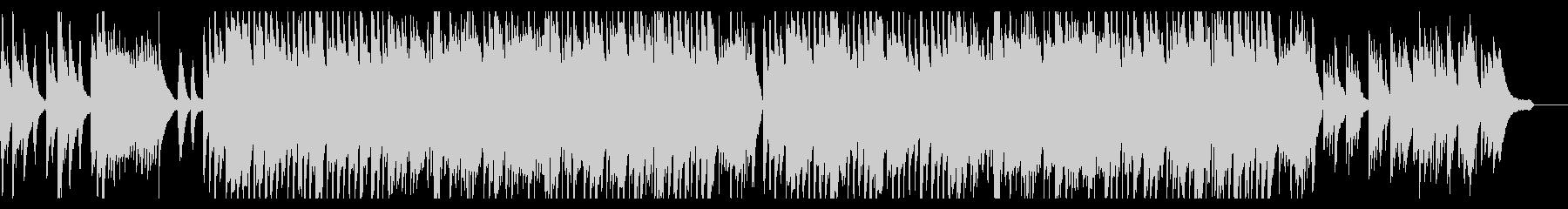 ほのぼの 素朴 ピアノとクラリネットの未再生の波形