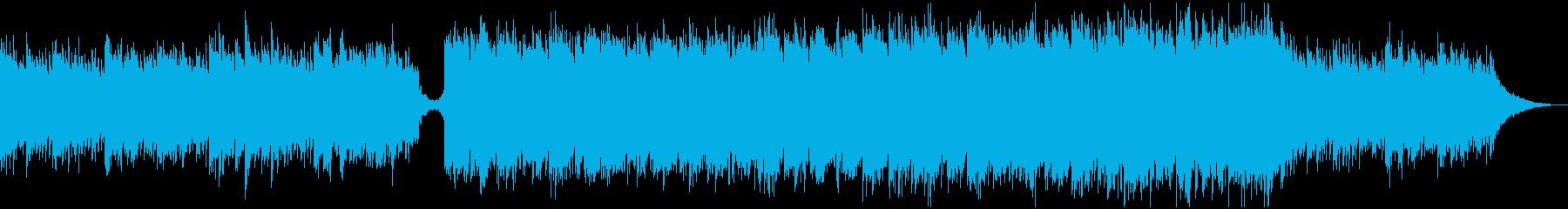 現代の交響曲 ポジティブ 明るい ...の再生済みの波形