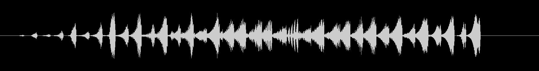 場面転換、タッチ用途SE02-3の未再生の波形