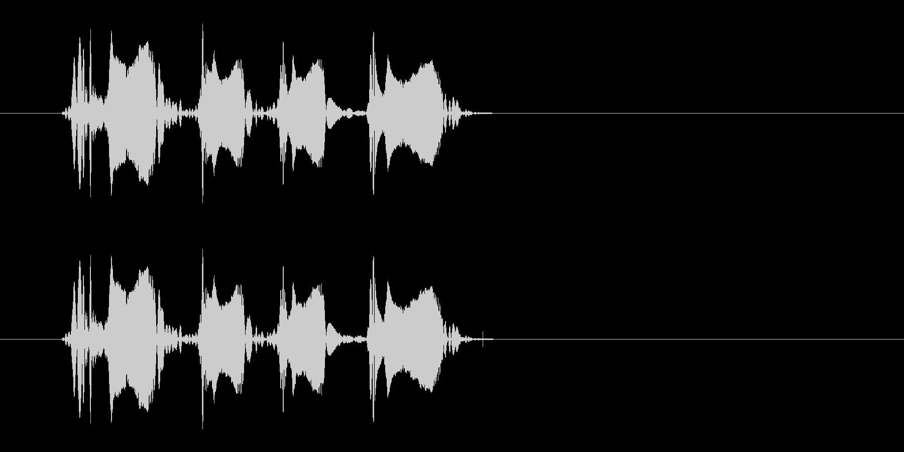 レーザー音-149-3の未再生の波形