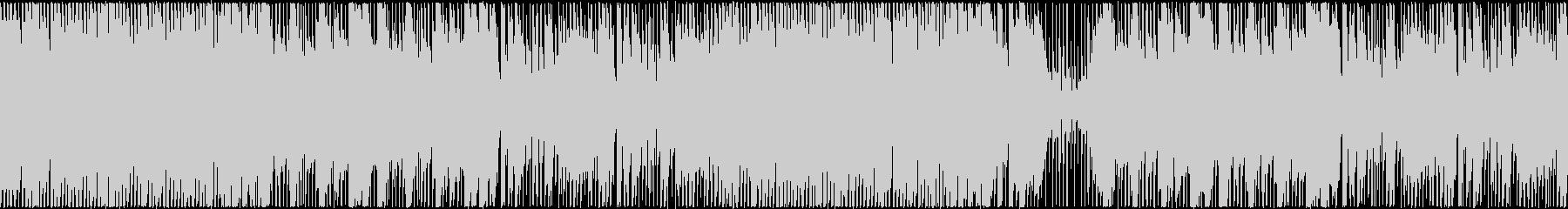 ハロウィン・ホラー風楽曲の未再生の波形