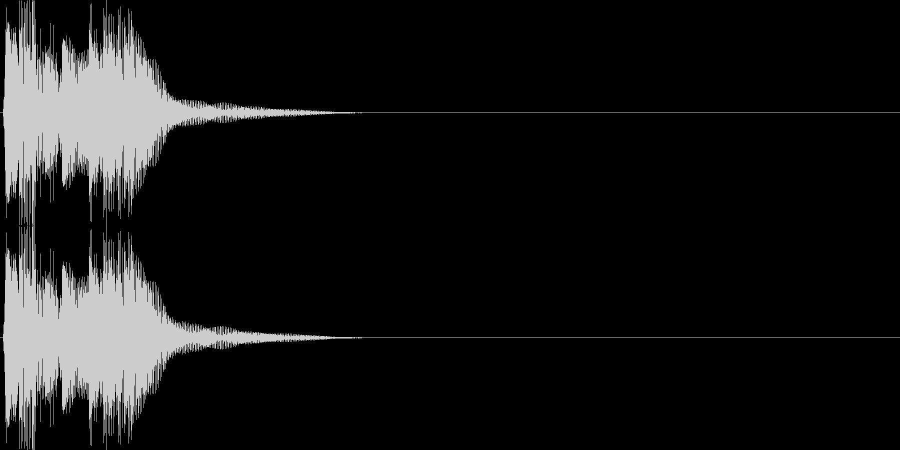 決定・空気感・キャッチー・印象的21の未再生の波形