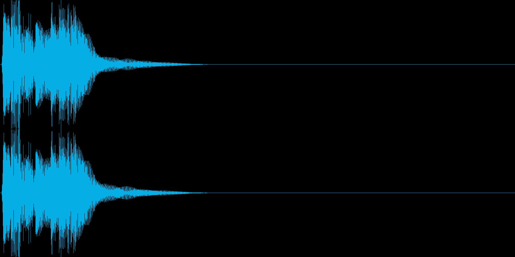 決定・空気感・キャッチー・印象的21の再生済みの波形