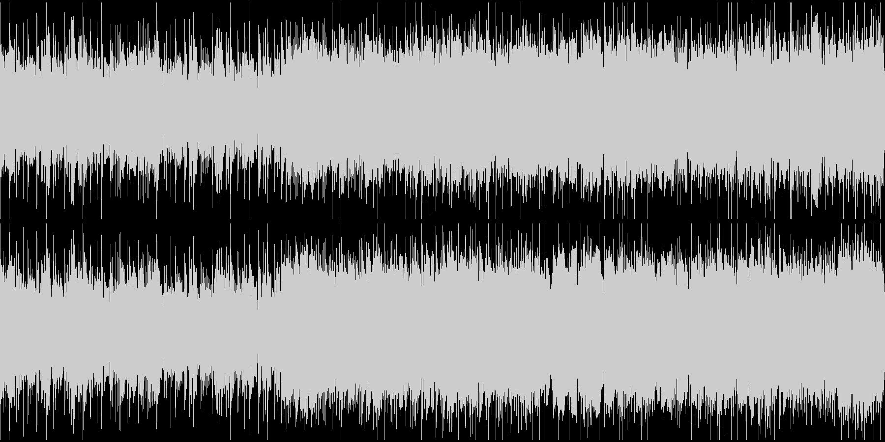 渋いグランジロック・生ギター・ループ1の未再生の波形
