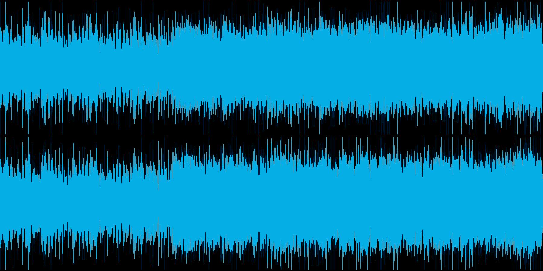 渋いグランジロック・生ギター・ループ1の再生済みの波形
