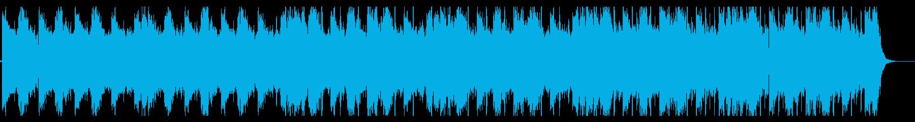 涼しげなHiphop_No383_2の再生済みの波形