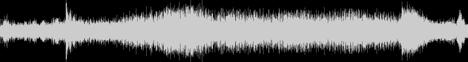 トラムの音の未再生の波形
