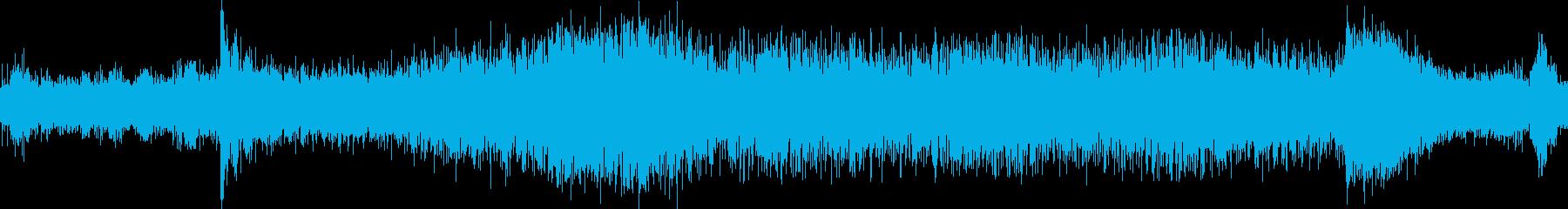 トラムの音の再生済みの波形