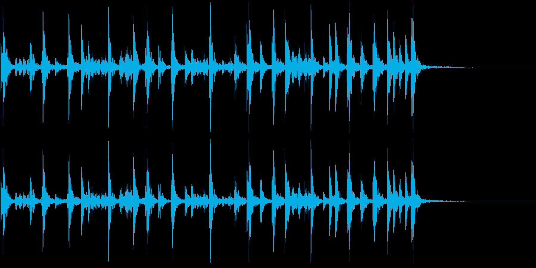 低音:リズムビート、漫画コメディパ...の再生済みの波形