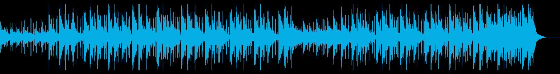 暖かくまろやかで、ボーカルFX、ピアノ、の再生済みの波形