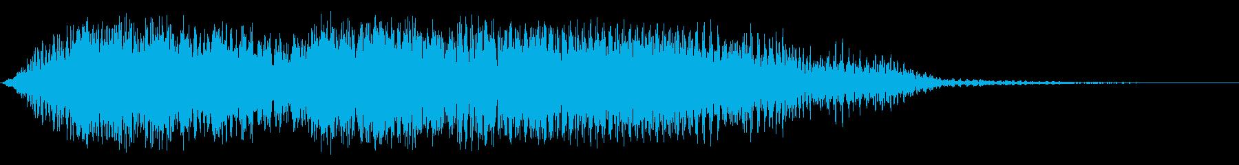 低地恐竜の再生済みの波形