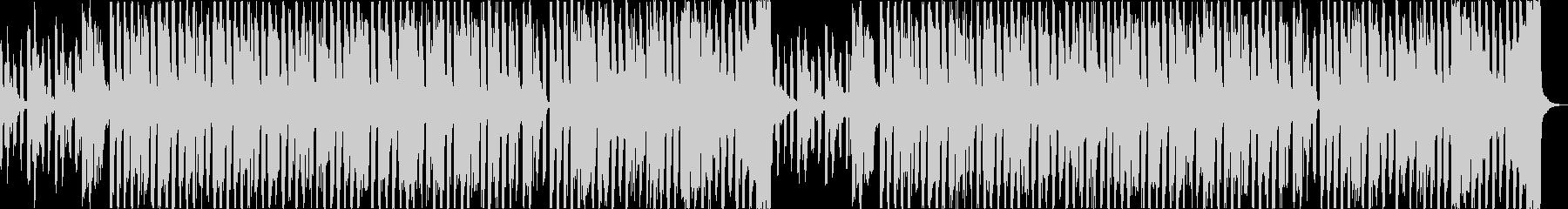 おしゃれチルヒップホップR&Bハウスaの未再生の波形