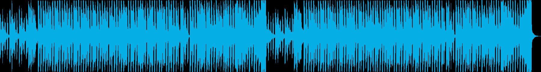 おしゃれチルヒップホップR&Bハウスaの再生済みの波形