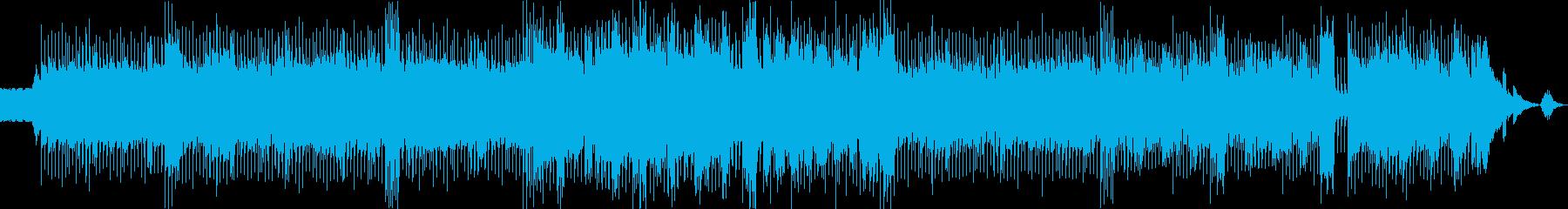 ギターの再生済みの波形