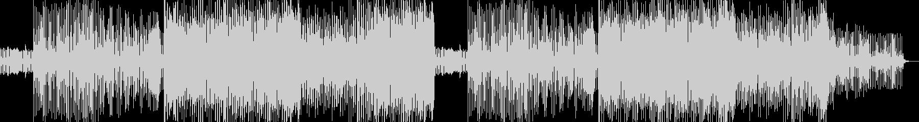 シンプルなEDM風サウンドの未再生の波形