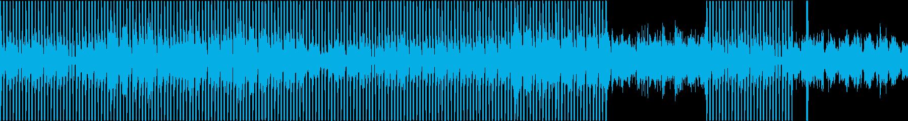 叙情的EDMハウスver.2の再生済みの波形