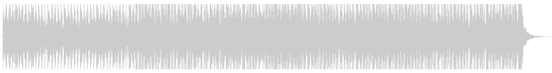 映画トレイラーの様なディストピアBGMの未再生の波形