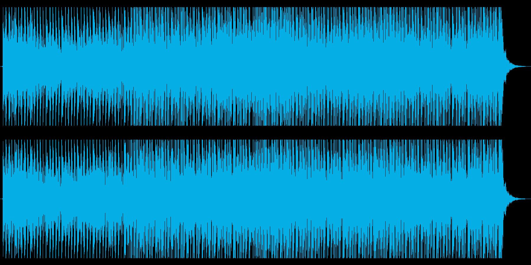 映画トレイラーの様なディストピアBGMの再生済みの波形