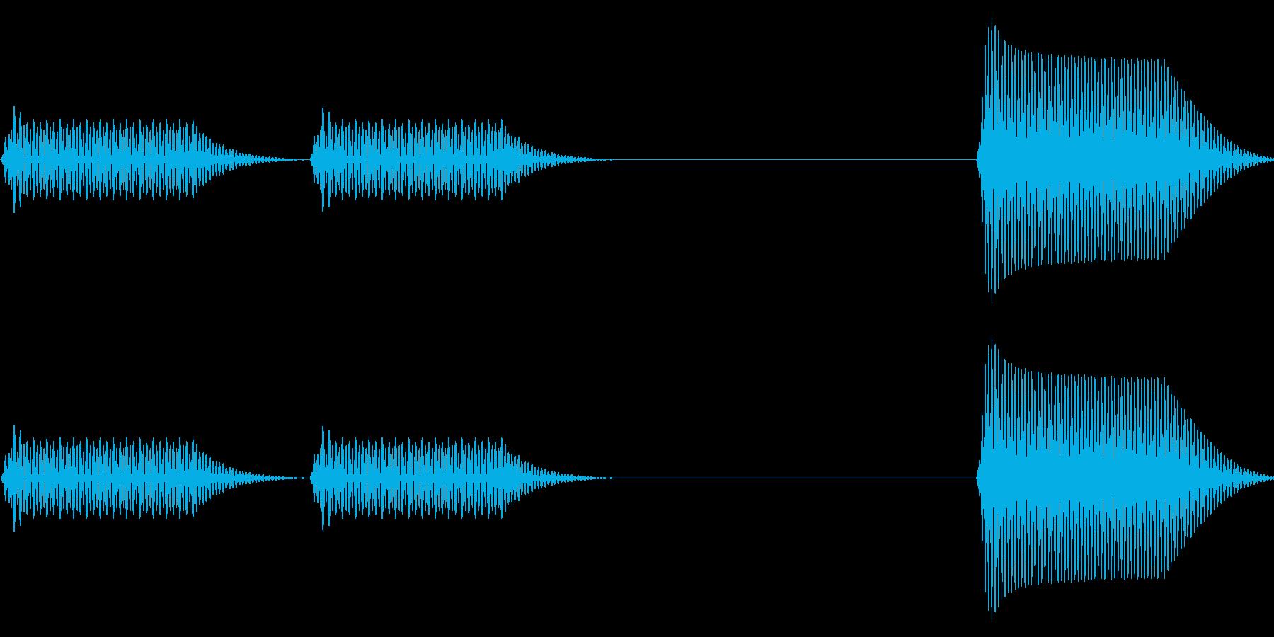 往年のRPG風 コマンド音 シリーズ10の再生済みの波形