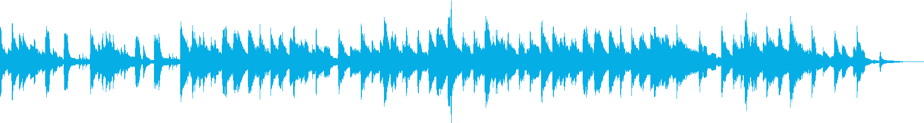 ジャズ・ミディアム・ライト・ピアノの再生済みの波形