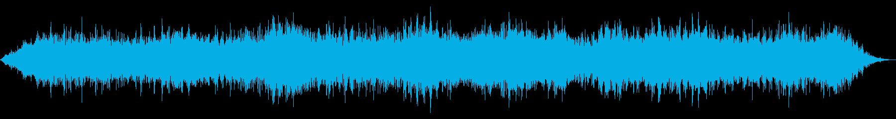 ねじれたリンギングと上昇/下降モー...の再生済みの波形