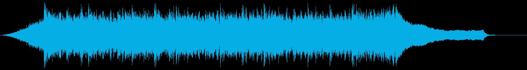 企業VPや映像98、オーケストラ、爽快cの再生済みの波形