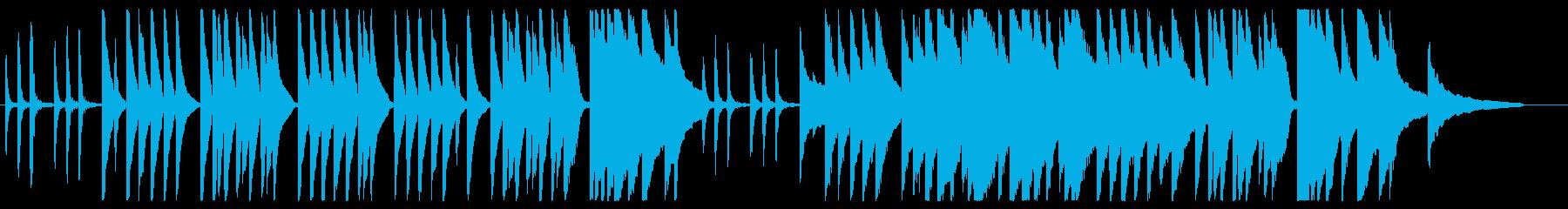 かごめかごめ ピアノver.の再生済みの波形
