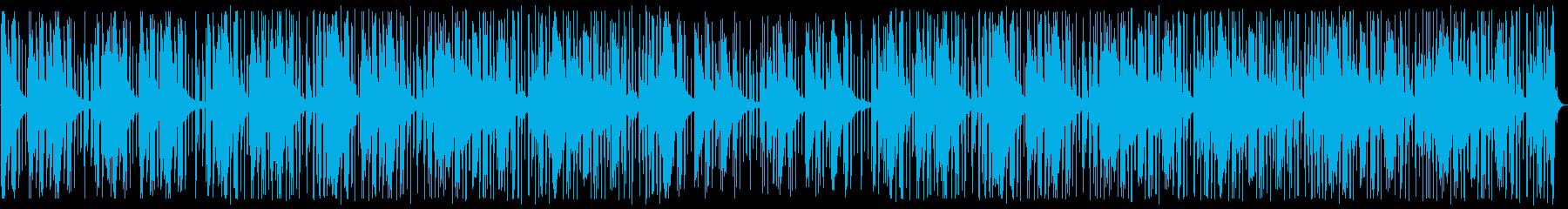 落ち着き/R&B_No508の再生済みの波形