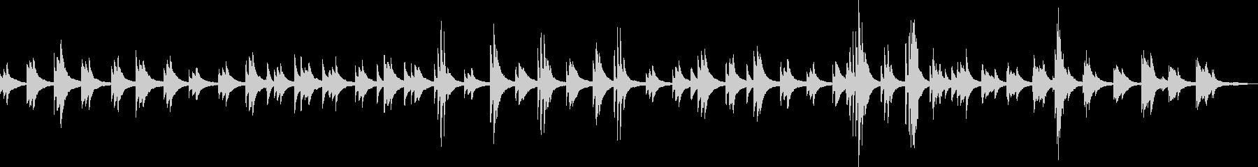 悲哀のピアノバラード(悲しい・BGM)の未再生の波形