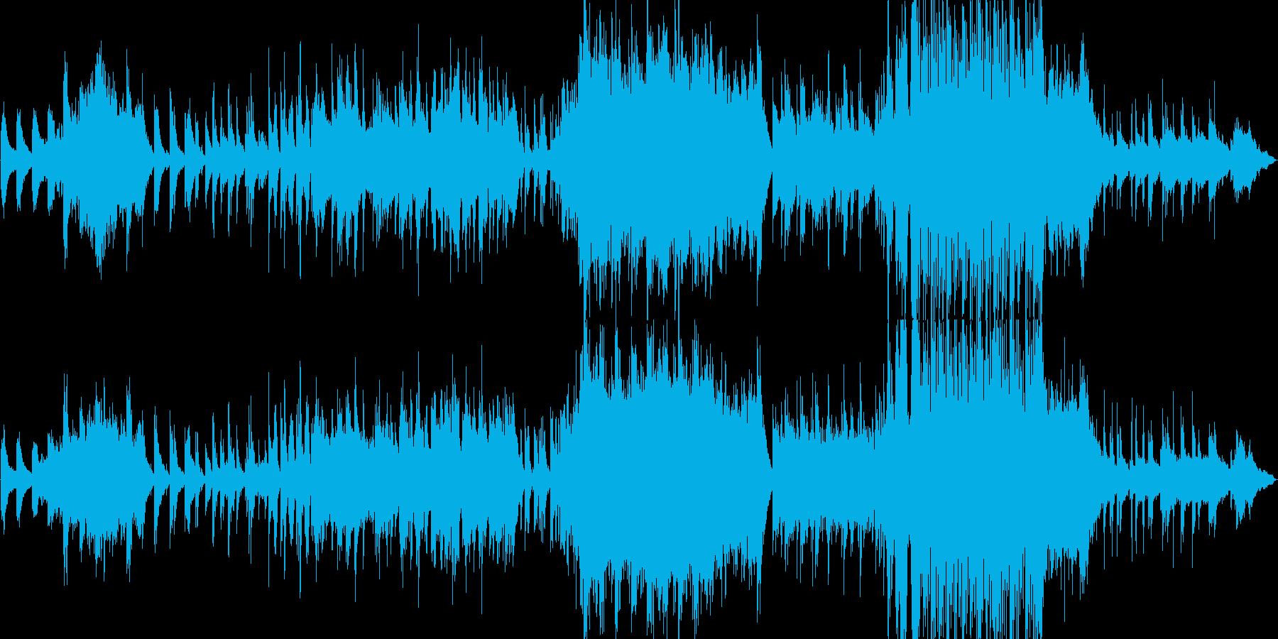 ピアノが印象的な寂しい雰囲気のバラード4の再生済みの波形