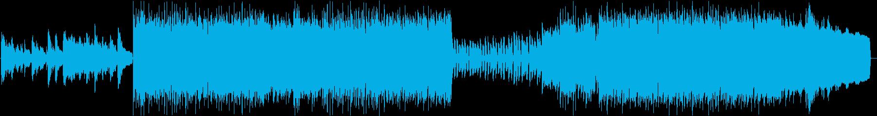 ファンタジー / 哀愁感あるケルト曲の再生済みの波形