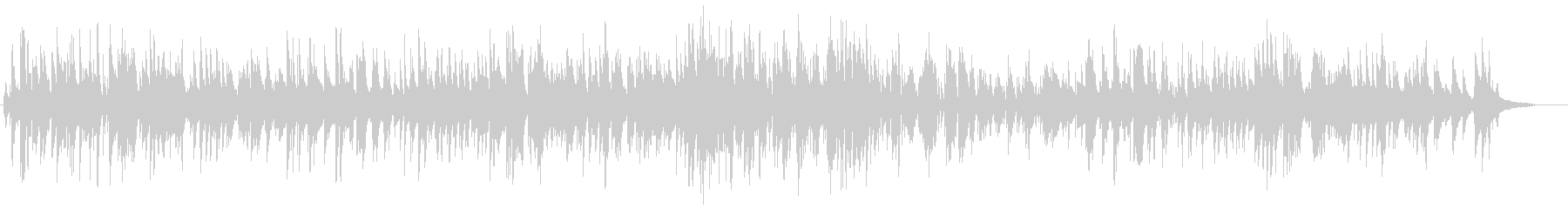 生演奏高音質のジャズバラードですの未再生の波形