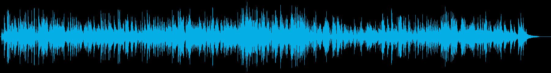 生演奏高音質のジャズバラードですの再生済みの波形