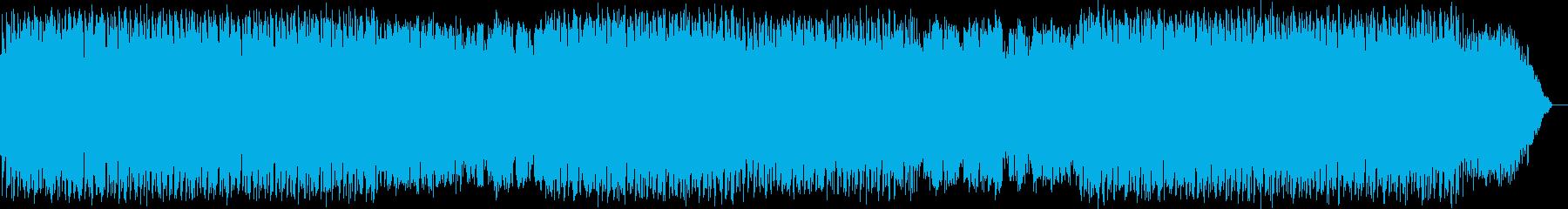 浮遊感の竹笛の再生済みの波形