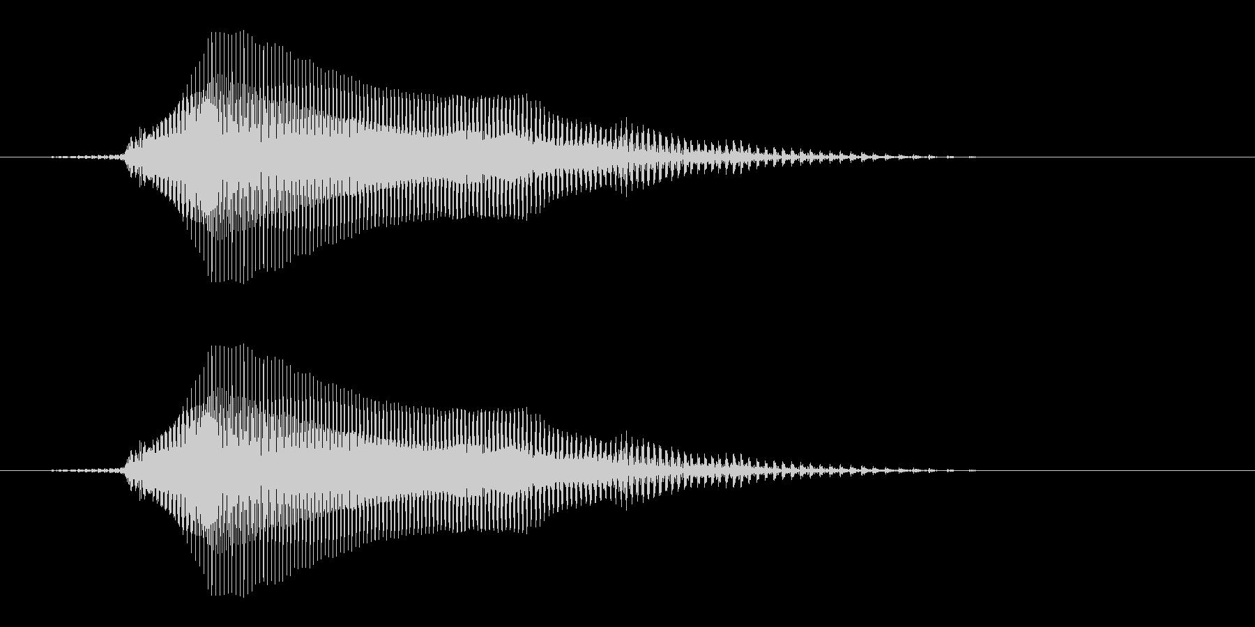 どん - 幼稚園児女の子(4歳)の未再生の波形