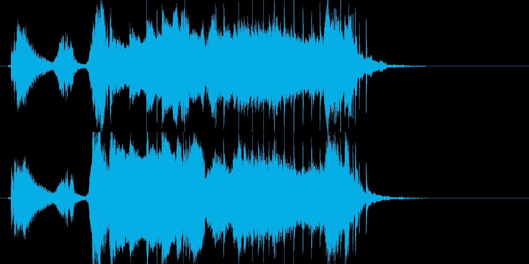 和風尺八ジングル雅 よぉ琴 ノーマルの再生済みの波形