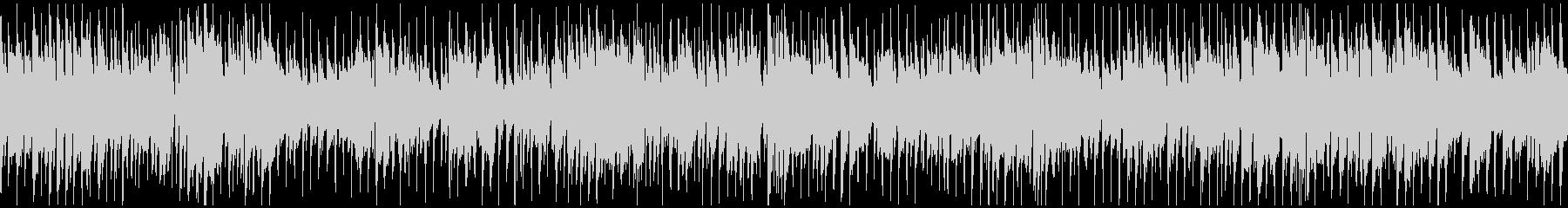 ノリノリサックスのクラブジャズ※ループ版の未再生の波形